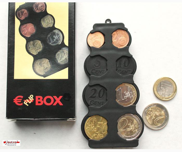 Münzenbox - Euro-Flip-Box