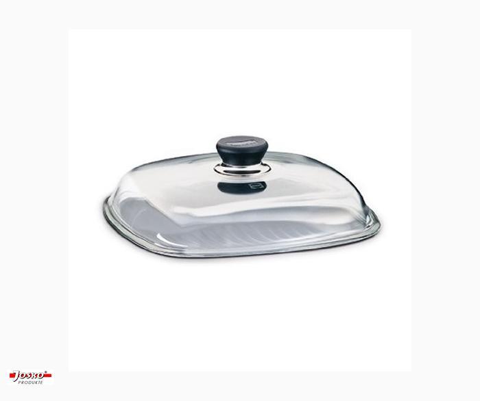 Glasdeckel Rechteckig  ( 26x26 cm)