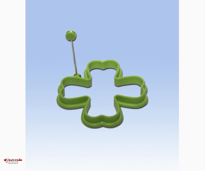 Silikon Eierformer - Kleeblatt