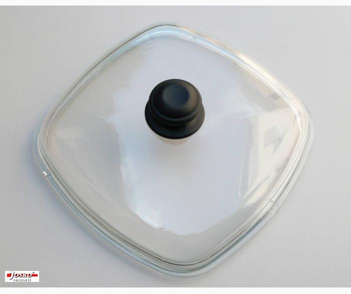 Glasdeckel Rechteckig  ( 28x28 cm)