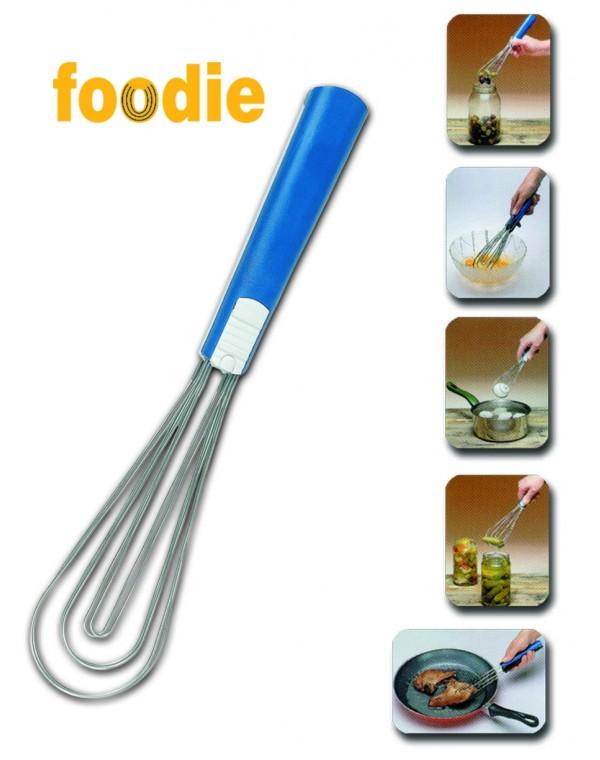 Küchenzange Grillzange Salatzange 5 in 1: Greifen Wenden Schneebesen Heben Seihen mit Klick-Veschluss