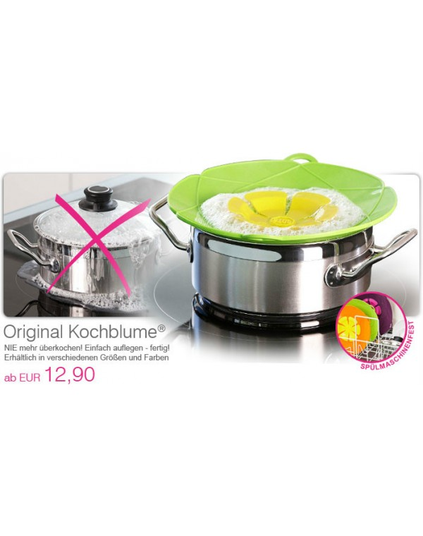 Kochblume® M Ø 25,5cm - verschiedene Farben