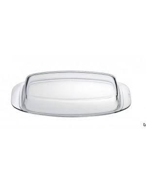 Glasdeckel für Bräter backofenfest auch als Auflaufform