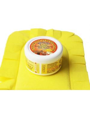 Bienenwachs Lederbalsam - Pflegemittel mit Handschuh