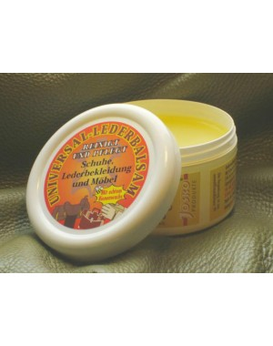 2 tlg SET Lederbalsam mit Bienenwachs & Weißer Putzstein