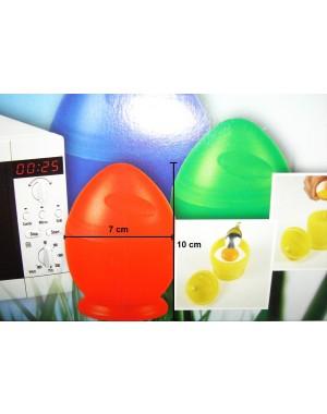 Mikrowellen Eierkochbecher 4-teiliges Set im farbenfrohen Design nur in 25 Sek. zum Frühstücksei