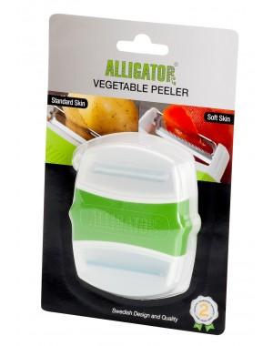 Alligator® Gemüseschäler mit 2 Klingen