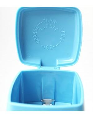 2 tlg SET Eiswürfel-Zerkleinerer manuell mit Handkurbel, Ice Crusher, Eis für Cocktails, Smoothies, Longdrinks