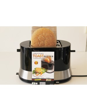 Toastaschen SET 2 tlg für alle Toaster     Nie wieder Toast im Toasterschlitz suchen