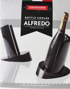 Weinkühler Alfredo Elegant schwarz ORIGINAL aus Italien