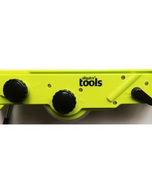 Alligator® Mandoline Hobel Präzise Profi-Mandoline für Scheiben, Stifte, Würfel und Rauten