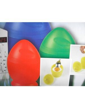 4tlg SET  Mikrowellen-Eierkocher nur in 25 Sek. Frühstücksei