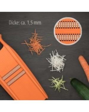 Börner Roko - Reibe mit Fingerschutz für Julienne Streifen 1,5mm fein