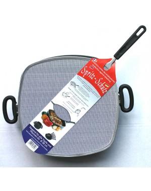 Spritzschutz eckig für Kochgeschirr 30 x 30 cm