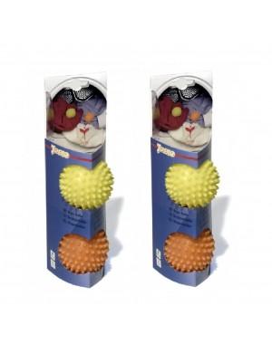 2 SETS Trocknerbälle Waschbälle Waschkugeln je 2 Stück für Waschmaschine & Trockner